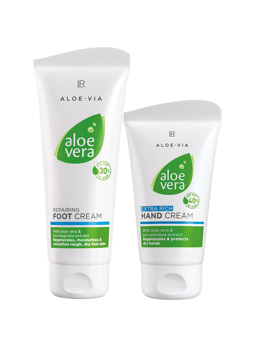 Aloe Vera Hand & Foot Care Set