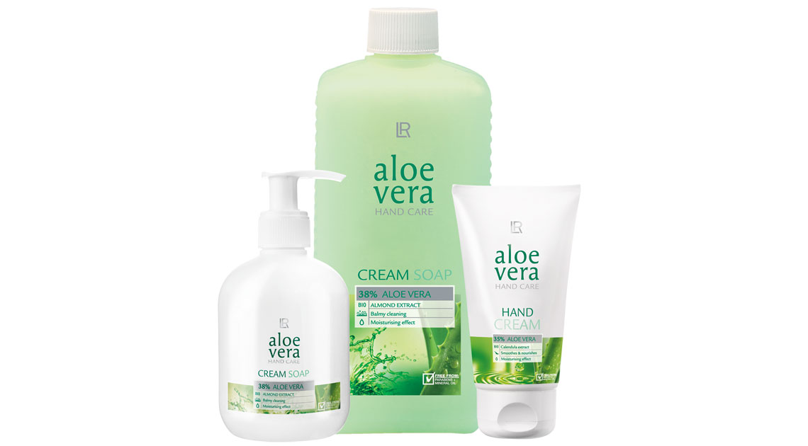 Aloe Vera Soft Hands Set