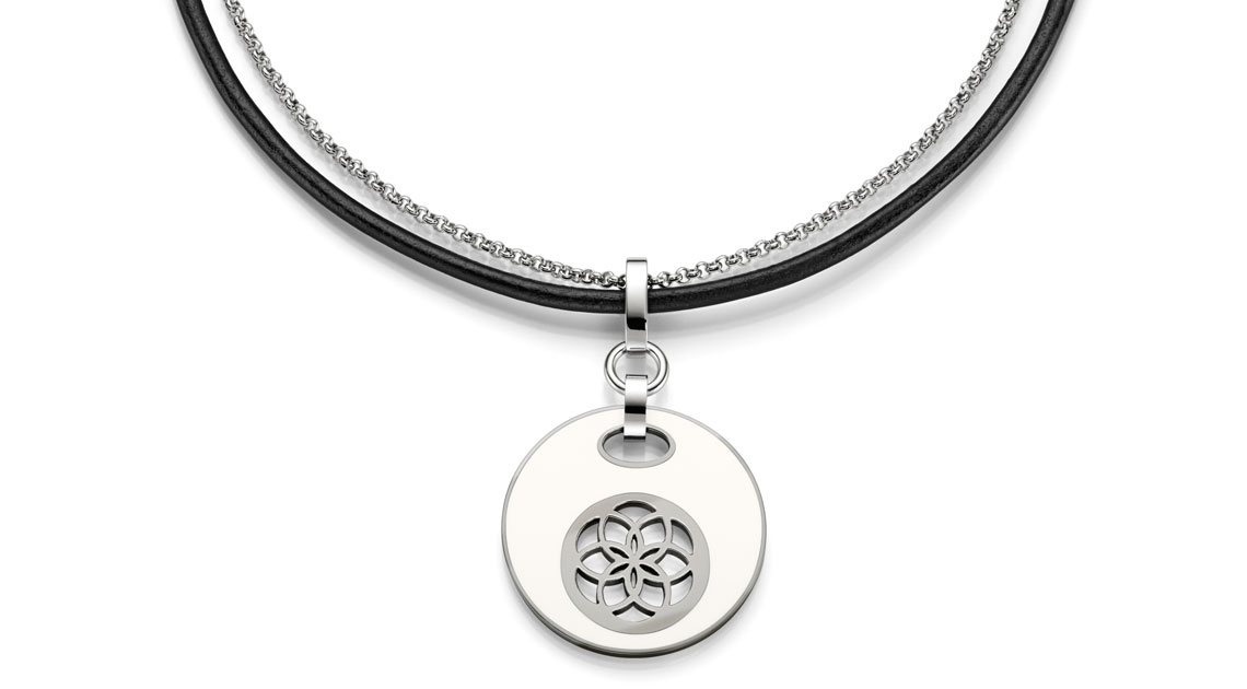 Seal of Life Halsband Vitt