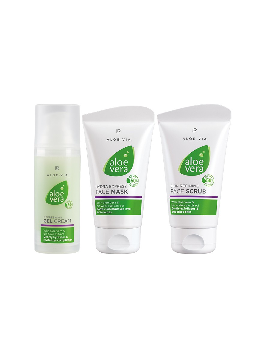 Aloe Vera Cleansing & Fresh Set