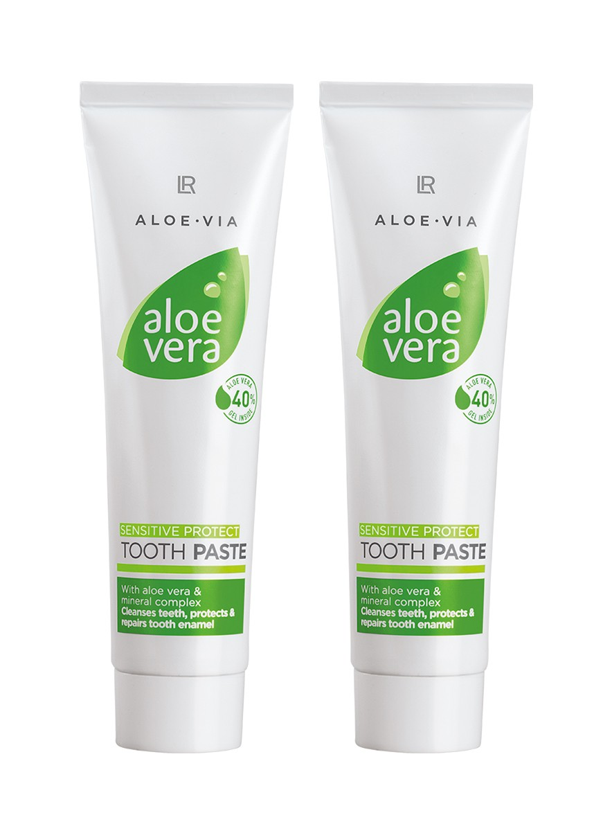 Aloe Vera Tandkräm Tooth Gel Sensitive 2pack