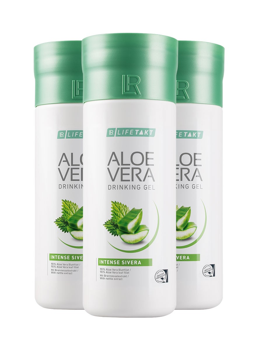 Aloe Vera Drinking Gel Intense Sivera 3-pack