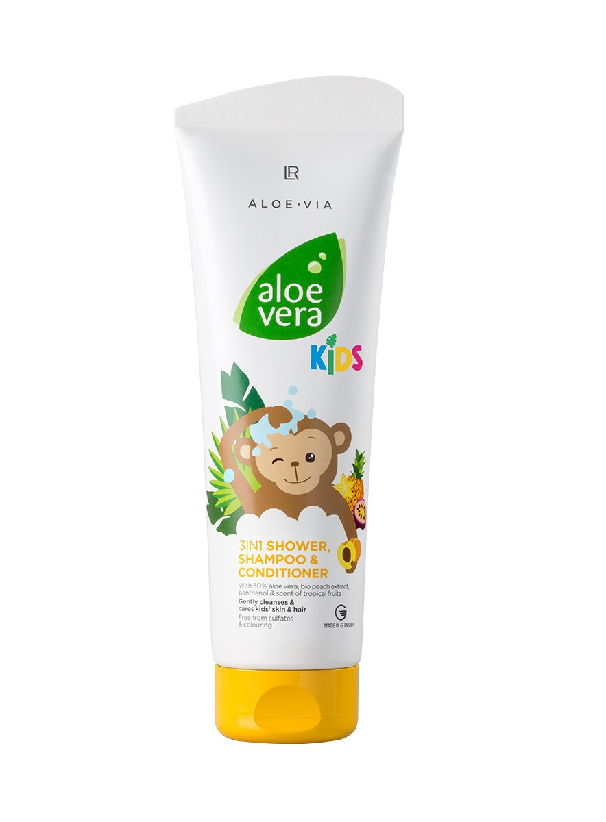 Aloe Vera Kids 3in1 Shower, Shampoo & Conditioner - duschgel