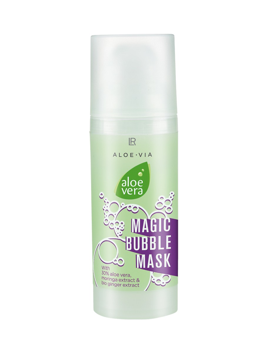 Aloe Vera Magic Bubble Mask - skummask