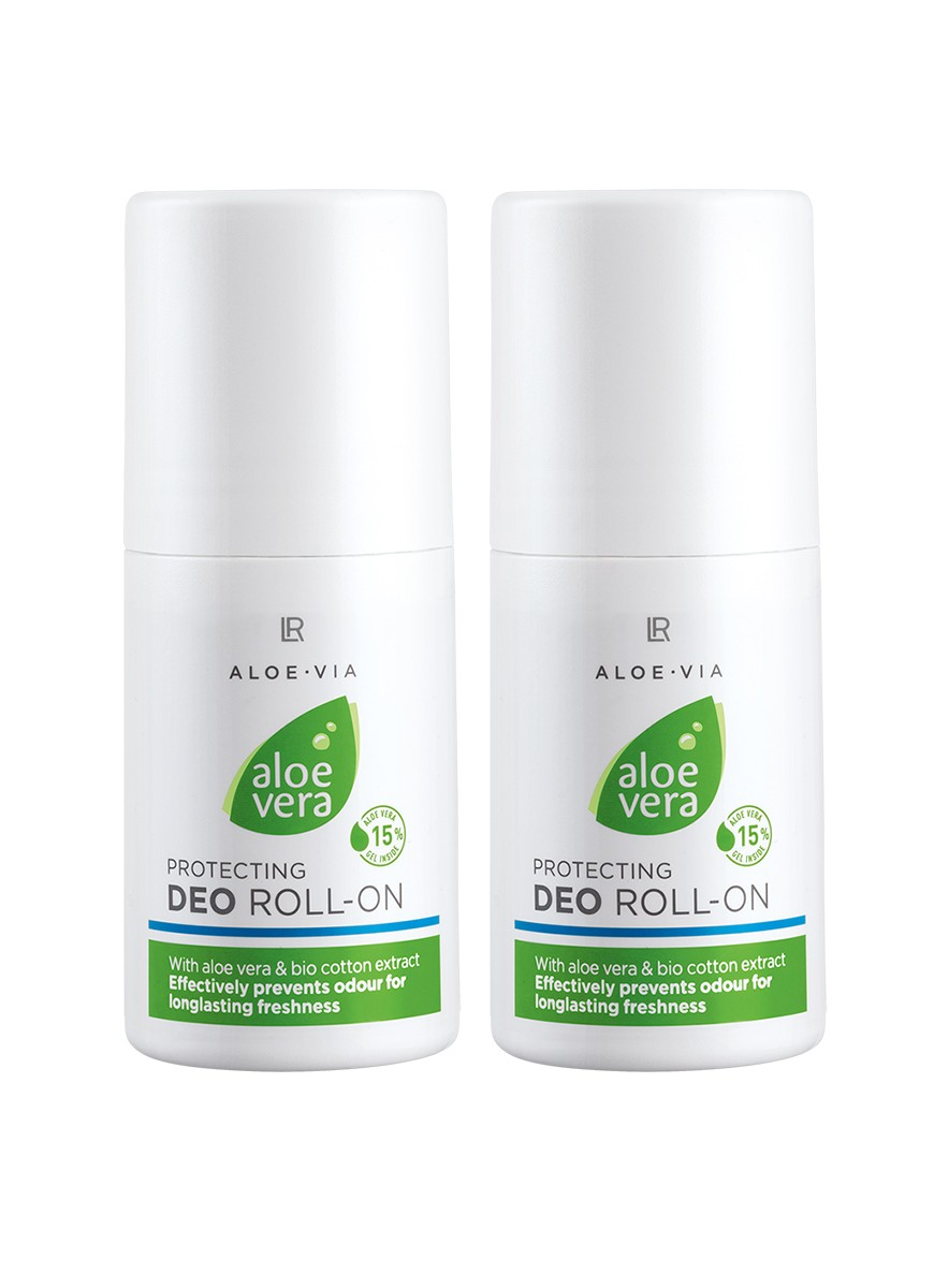 Aloe Vera Protecting Deo Roll-on, 2-pack