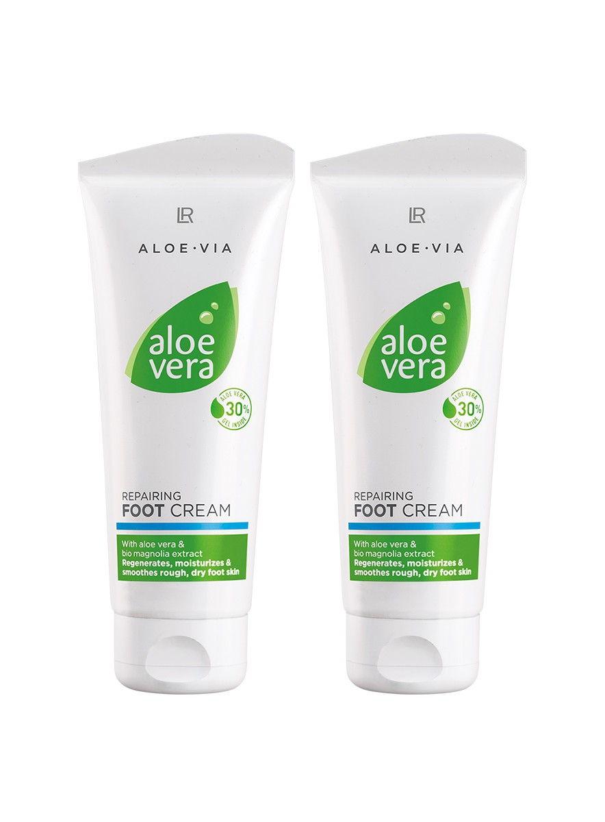 Aloe Vera Repairing Foot Cream - fotkräm 2pack