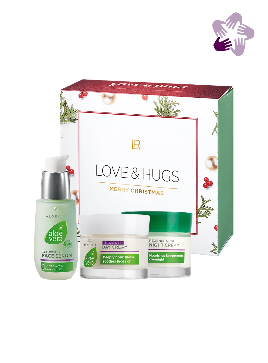 Aloe Vera X-MAS Face Care Set II