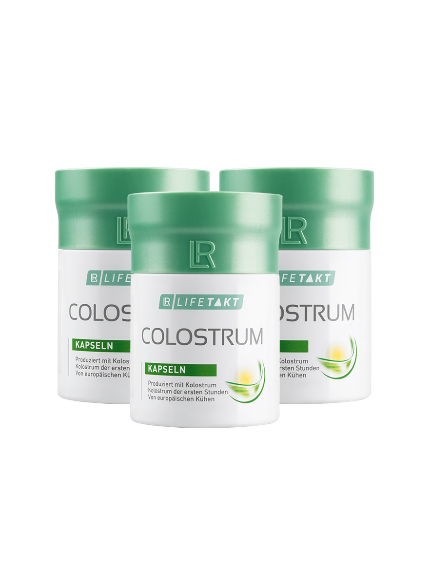 Colostrum Capsules, 3-pack