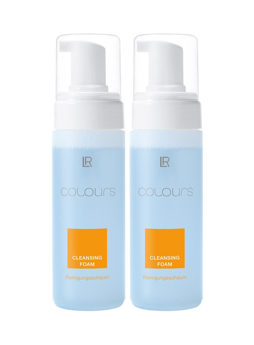 Colours Cleansing Foam, 2-pack