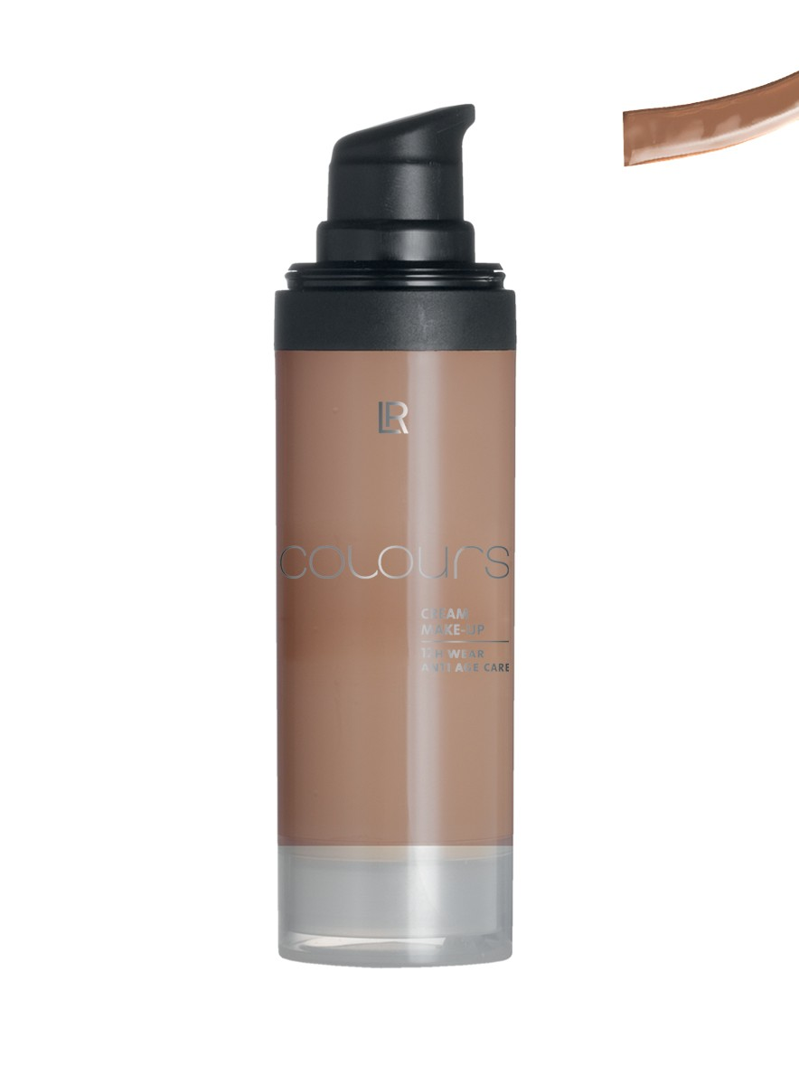 Colours Cream Make up Foundation - Dark Caramel