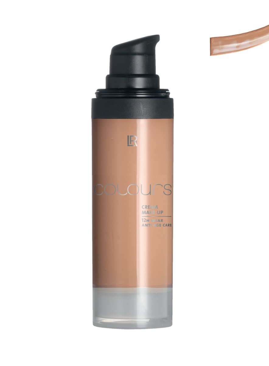 Colours Cream Make up Foundation - Light Caramel