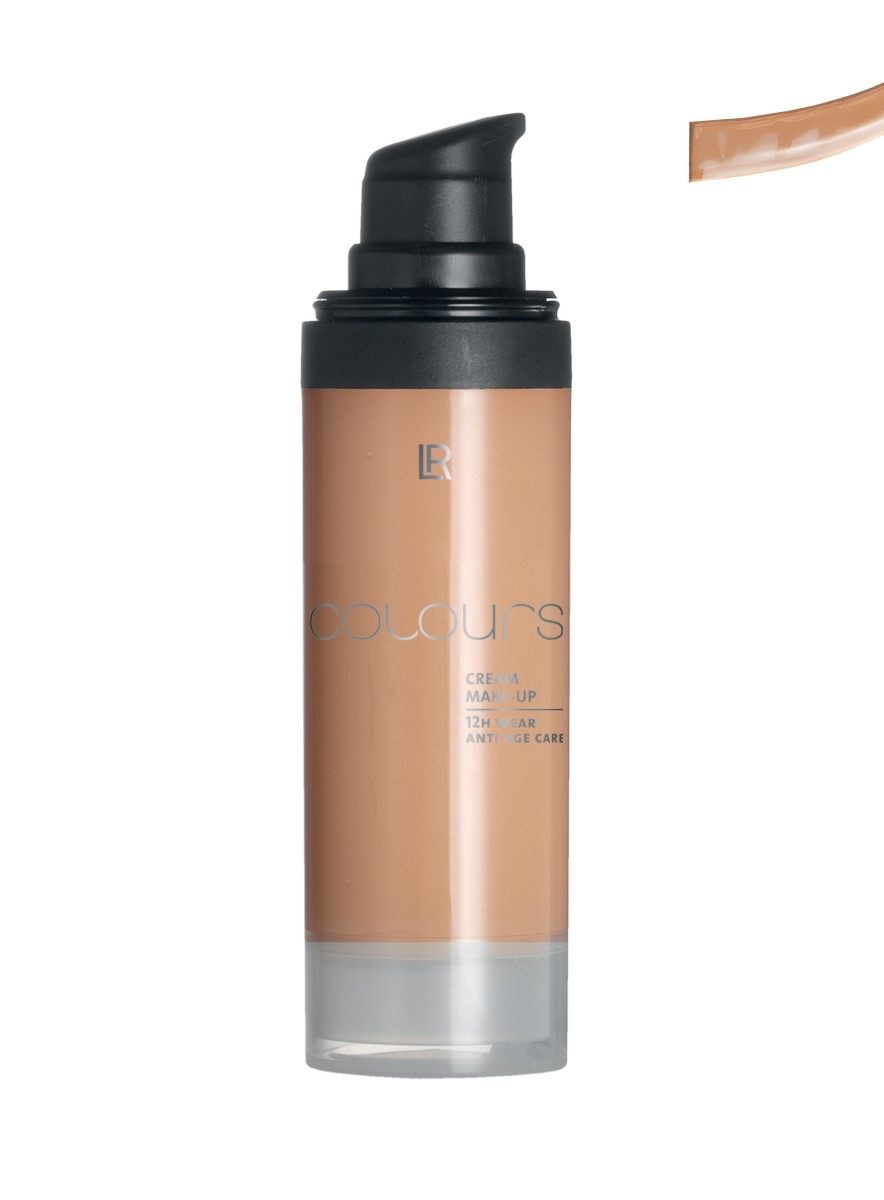Colours Cream Make up Foundation - Medium Caramel