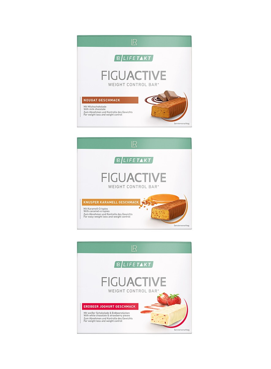 Figu Active Bars 3-pack Mix-set
