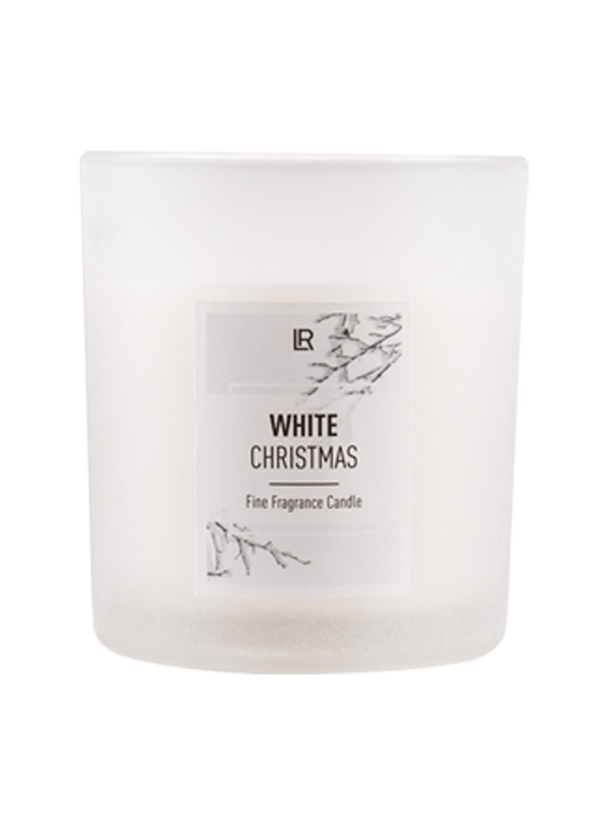 LR Winter Candle White Christmas