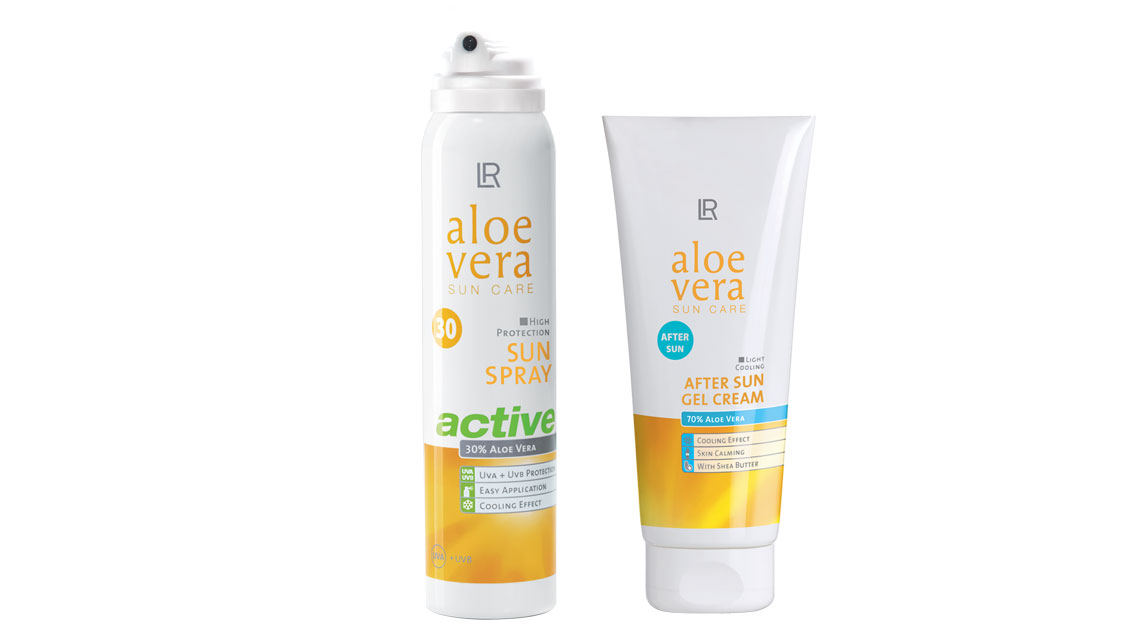 Aloe Vera Sun Protect & Care Set 2