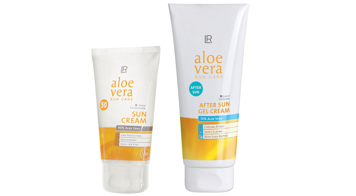 Aloe Vera Sun Protect & Care Set 3